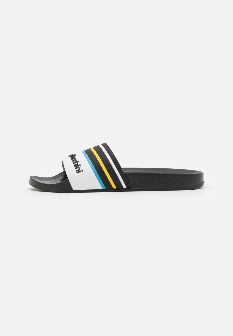 Sergio Tacchini - ANSLEY  - Pantofle - black/white/azzure blue