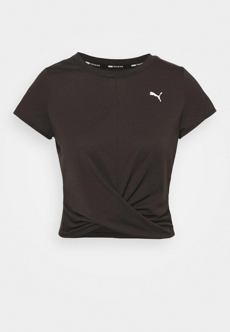 Puma - TWISTED  - T-Shirt print - black