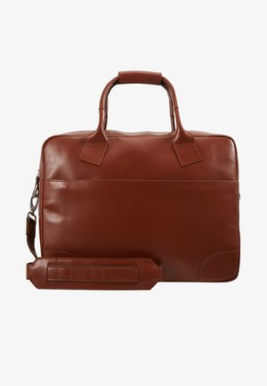 NANO DAY BAG - Briefcase - cognac