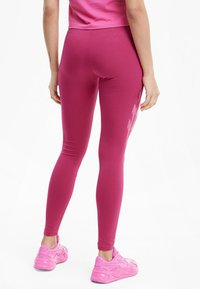 Puma - EVIDE - Leggings - Trousers - glowing pink - 2