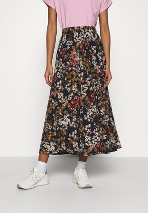 ONLPELLA SKIRT - Maxi sukně - night sky