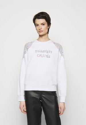 MILIARDARIO MAGLIA FELPA - Sweatshirt - white