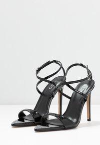 BEBO - SKITTLE - Sandaler med høye hæler - black - 4