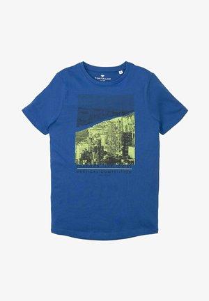 T-shirt print - kids blue lolite