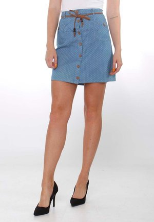 LISBETH - A-line skirt - sky blue