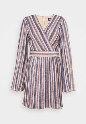 ADORE YOU MINI DRESS - Denní šaty - metallic