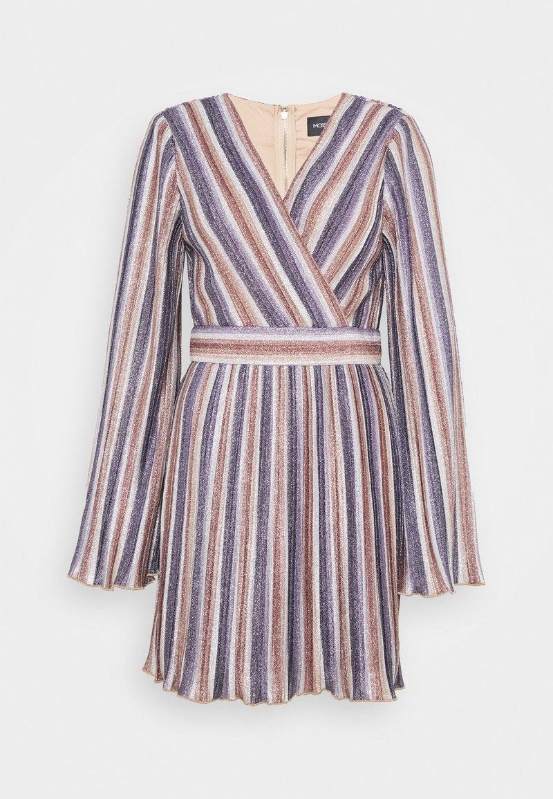 Mossman - ADORE YOU MINI DRESS - Day dress - metallic