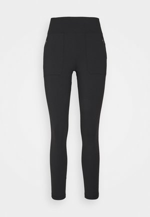PARAMOUNT HYBRID HIGH RISE - Leggings - black