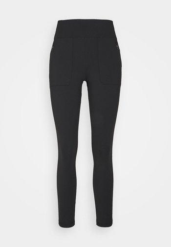 PARAMOUNT HYBRID HIGH RISE - Leggings - black