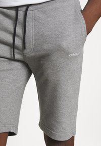 Calvin Klein - LOGO EMBROIDERY  - Tracksuit bottoms - grey - 4