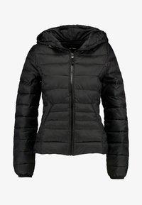 Vero Moda - SHORT HOODY - Winter jacket - black - 4