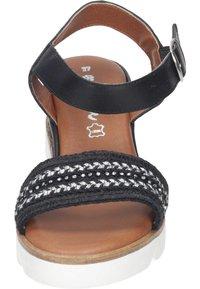 Piazza - Wedge sandals - black - 4