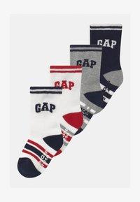 GAP - BOYS LOGO 4 PACK UNISEX - Sokken - white/grey/black - 0