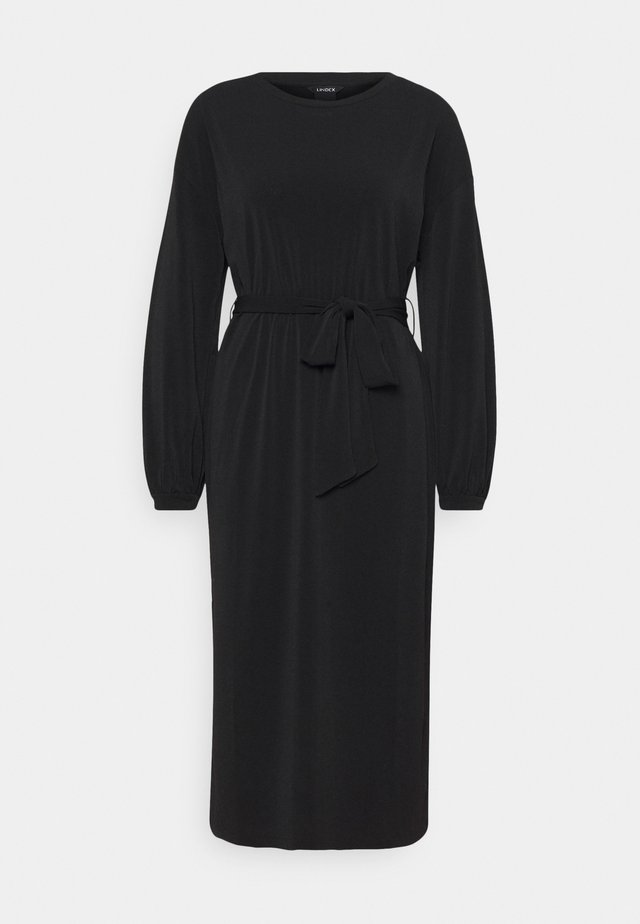 DRESS LISA - Sukienka z dżerseju - black