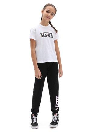 GR BEE CHECK - T-shirt imprimé - white