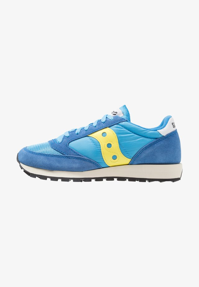 JAZZ ORIGINAL VINTAGE - Sneakersy niskie - yellow/blue