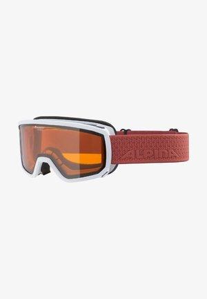 Ski goggles - white-coral