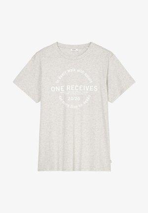 Print T-shirt - halo glow
