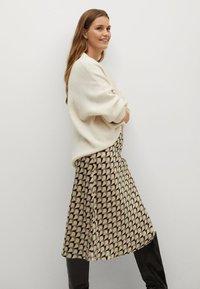 Mango - BIAS - A-line skirt - vert - 4