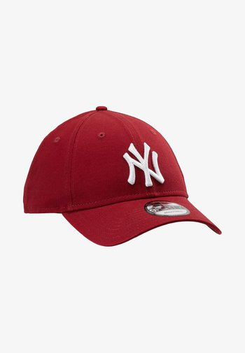 LEAGUE ESSENTIAL 9FORTY - Gorra - cardinal/optic white