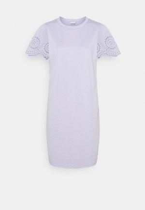 VITINNY FLOUNCE DETAIL DRESS - Jersey dress - purple heather