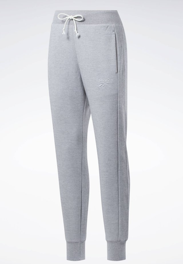 TRAINING ESSENTIALS LOGO - Pantalones deportivos - grey