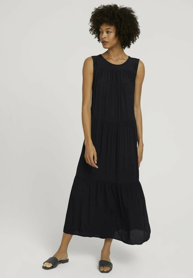 Maxi dress - deep black