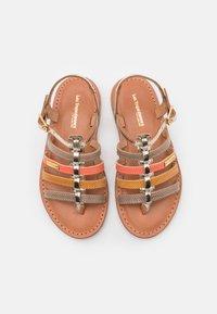 Les Tropéziennes par M Belarbi - HIRSON - T-bar sandals - taupe/multicolor - 3