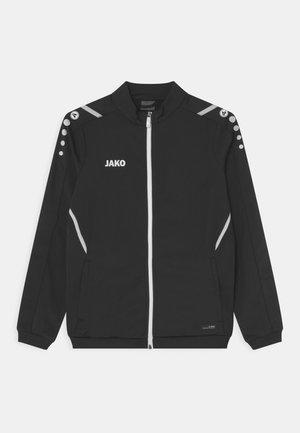 CHALLENGE UNISEX - Sportovní bunda - schwarz/weiß