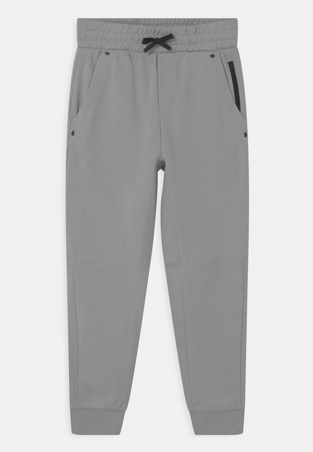 BOY TECH  - Tracksuit bottoms - silver grey