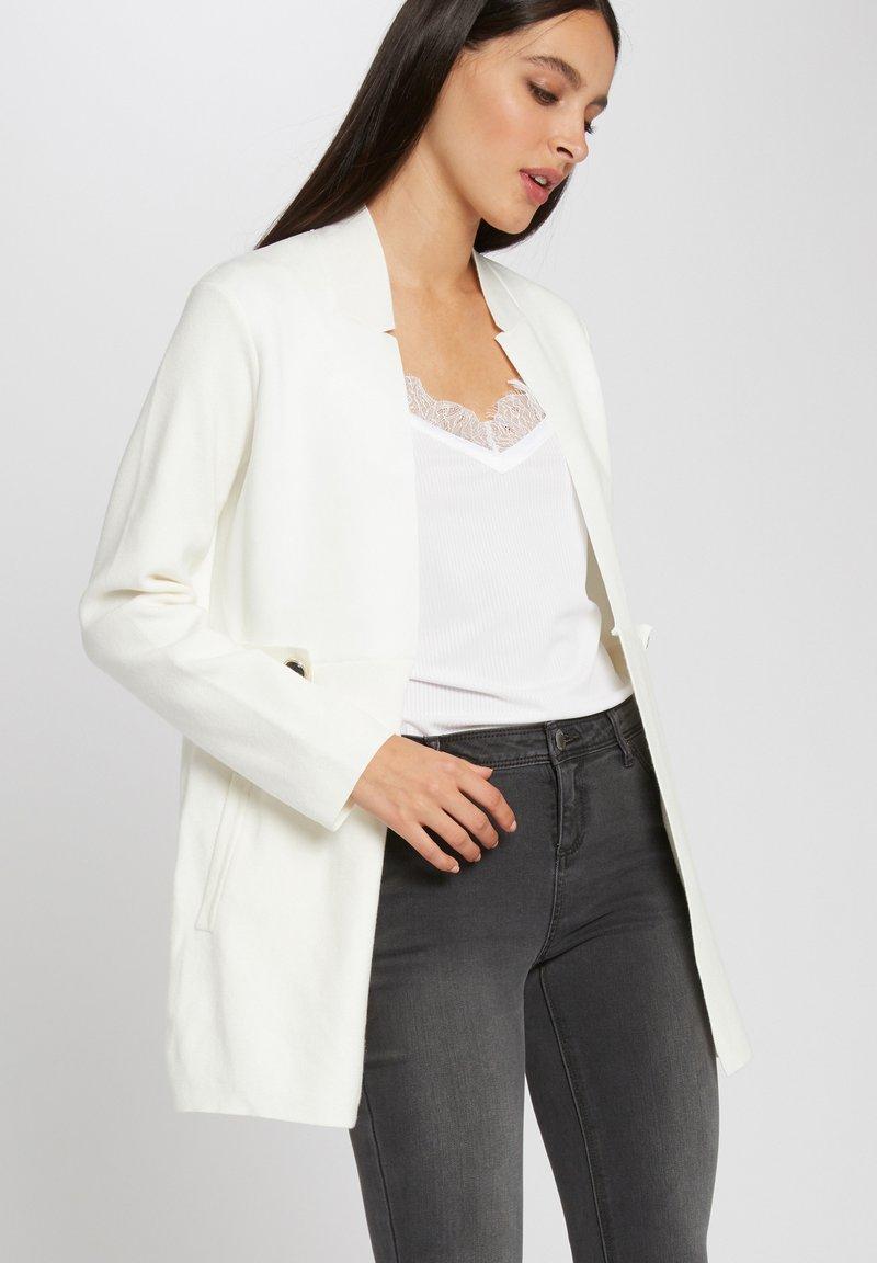 Morgan - TABS - Cardigan - off-white
