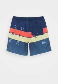 Quiksilver - WORD BLOCK VOLLEY YOUTH - Swimming shorts - true navy - 1