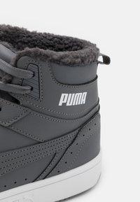 Puma - REBOUND JOY UNISEX - Sneakers high - castlerock/white - 5