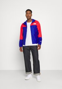 The North Face - HYDRENALINE WIND JACKET - Summer jacket - blue/horizon red - 1