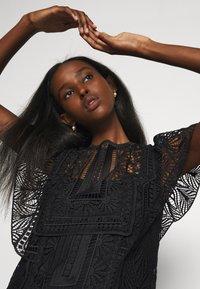 Alberta Ferretti - DRESS - Day dress - black - 4