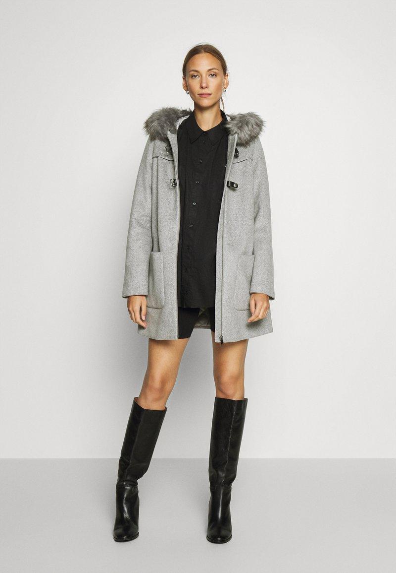 Esprit Collection - MIX COAT - Zimní kabát - light grey