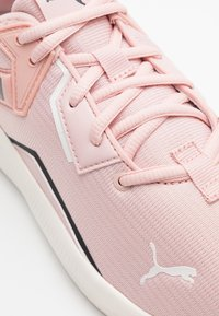 Puma - PLATINUM SHIMMER - Sports shoes - peachskin/black - 5