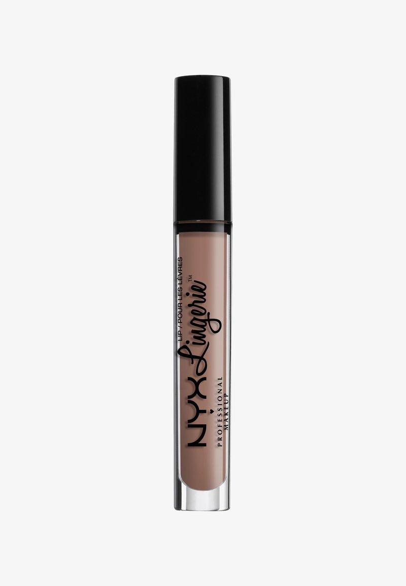 Nyx Professional Makeup - LINGERIE LIQUID LIPSTICK - Liquid lipstick - 18 cashmer silk