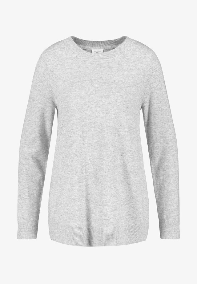 MIT WOLLE - Pullover - light grey