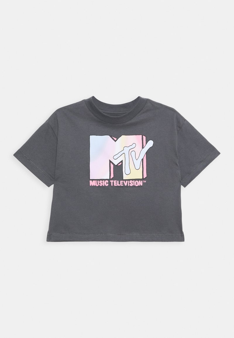 GAP - GIRLS TEE - Print T-shirt - dark grey