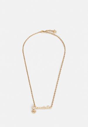 NECKLACE DONATELLA LETTERING - Collana - gold-coloured