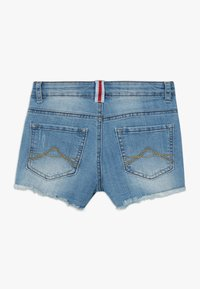 Lemon Beret - TEEN GIRLS - Denim shorts - medium blue - 1