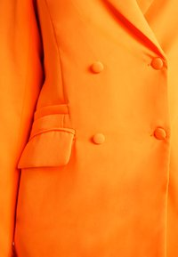 Missguided Tall - BUTTON DETAIL DOUBLE BREASTED - Sportovní sako - orange - 5