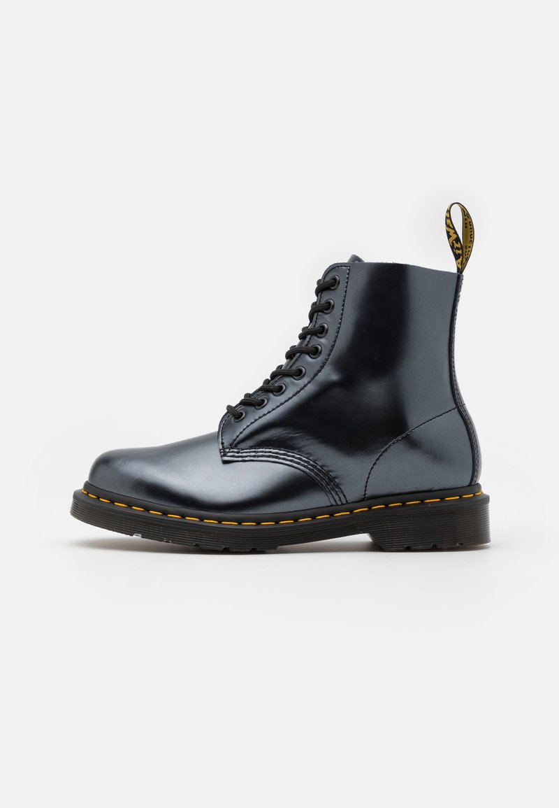 Dr. Martens - 1460 PASCAL UNISEX - Lace-up ankle boots - silver chroma