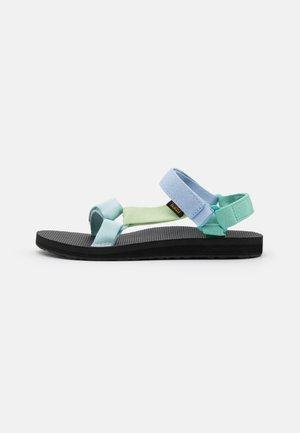 ORIGINAL UNIVERSAL - Walking sandals - light green/multicolor
