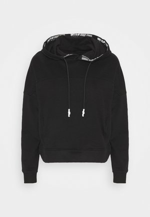 ONPALIDA HOOD SWEAT   - Sweatshirt - black/white