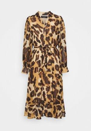 SLFGANZA  - Denní šaty - black/leo