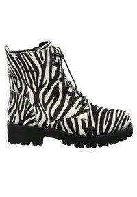 Tizian - BOSTON - Lace-up ankle boots - zebra - 5
