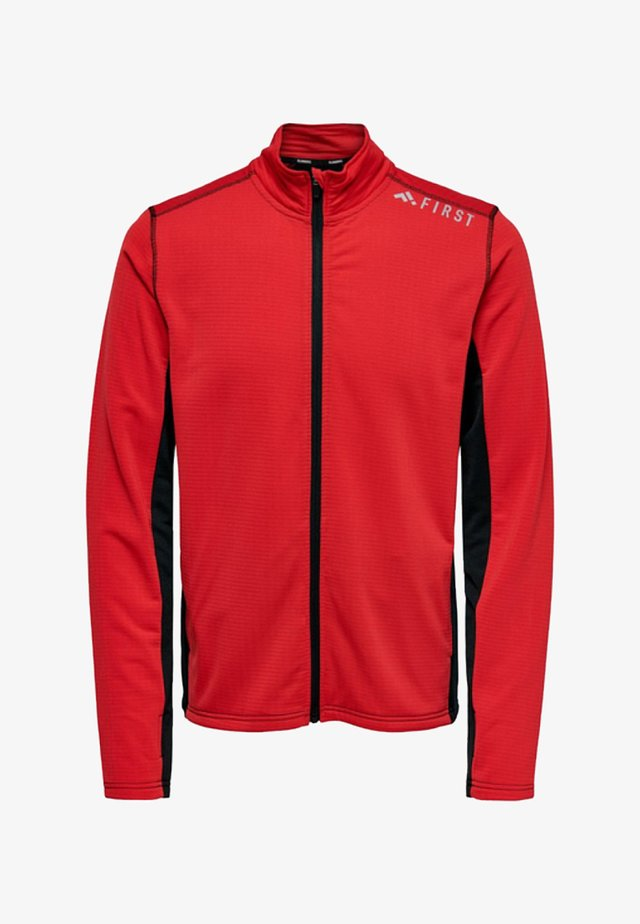 FIRST - Training jacket - red