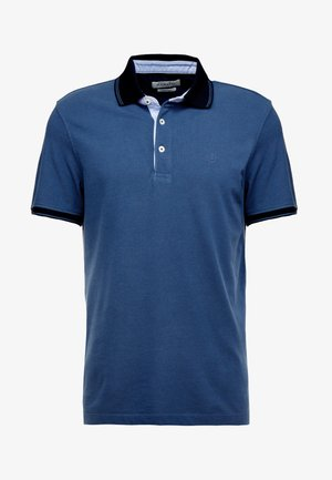 Polo shirt - mid blue